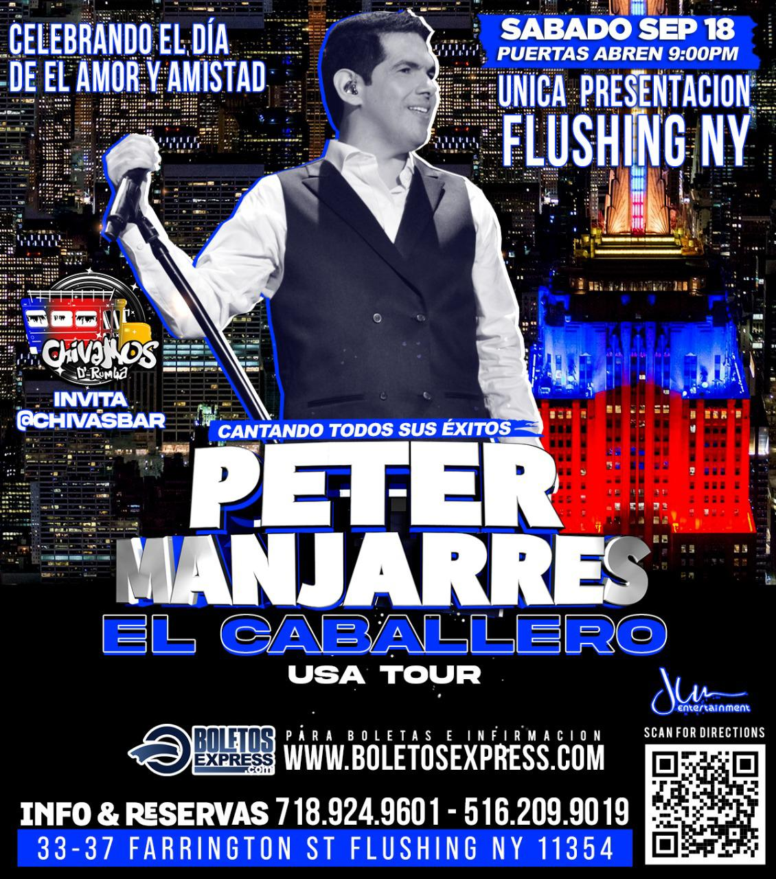 Concierto Peter Manjares