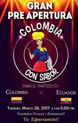 Pre Apertura Colombia Con Sabor