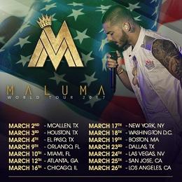 Maluma Tour 2017
