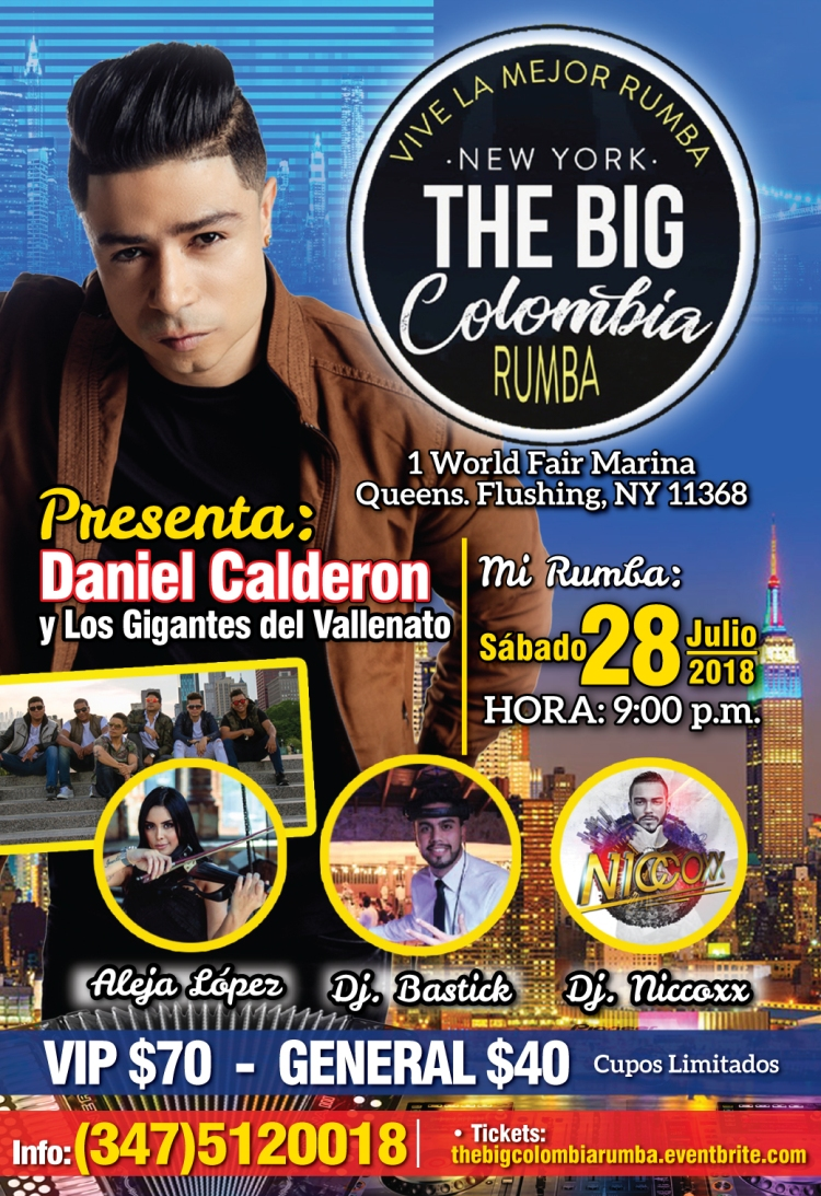 BIG COLOMBIA RUMBA