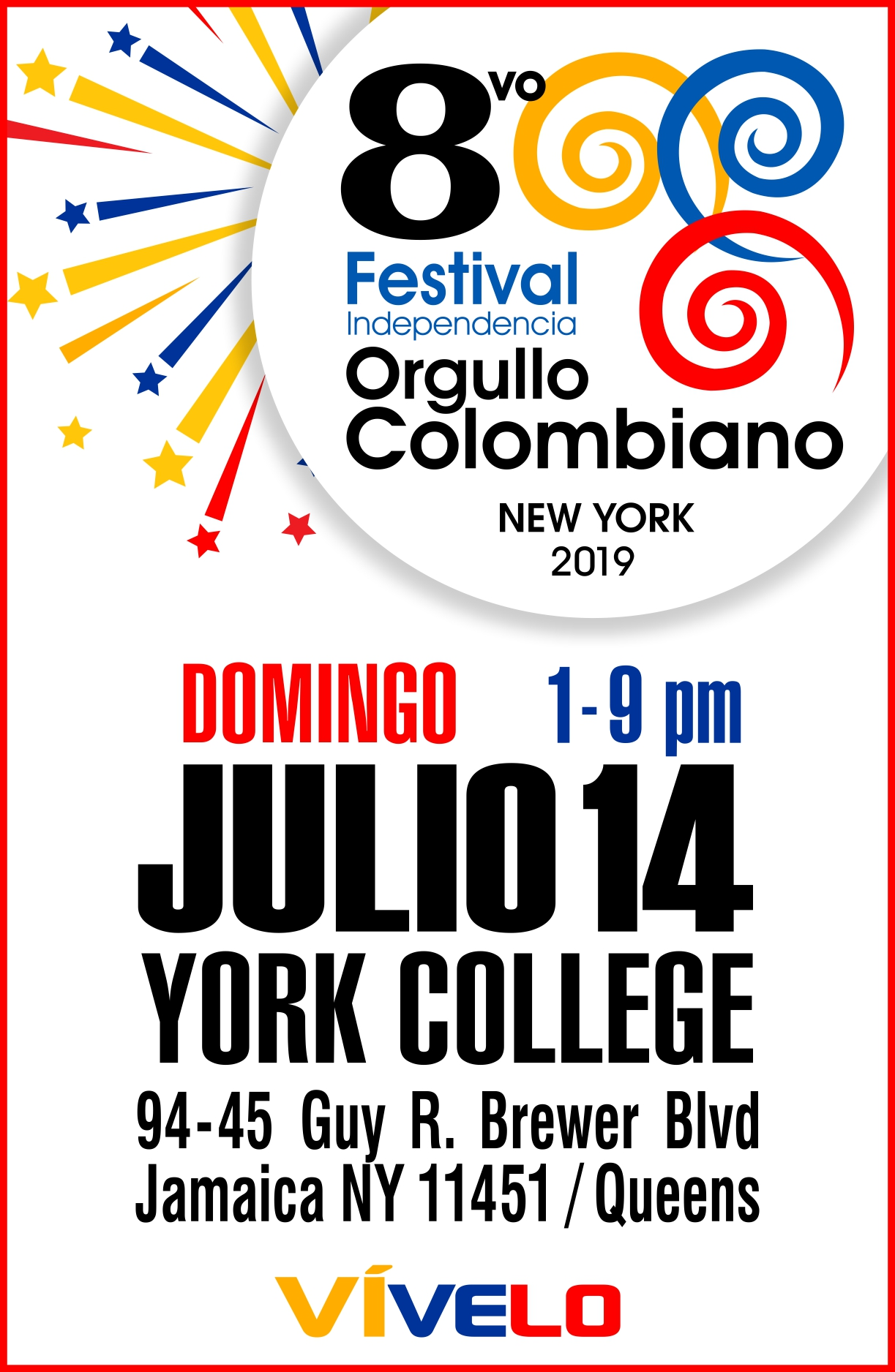 Festival Independencia Orgullo Colombiano 2019