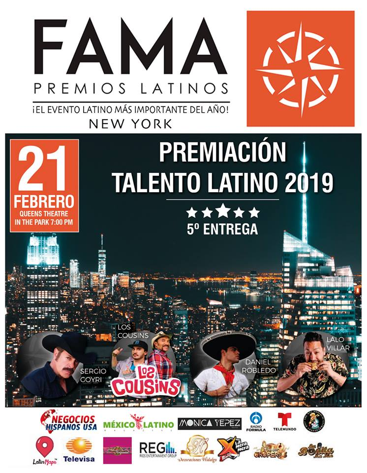 Los Premios Latinos Fama 2019