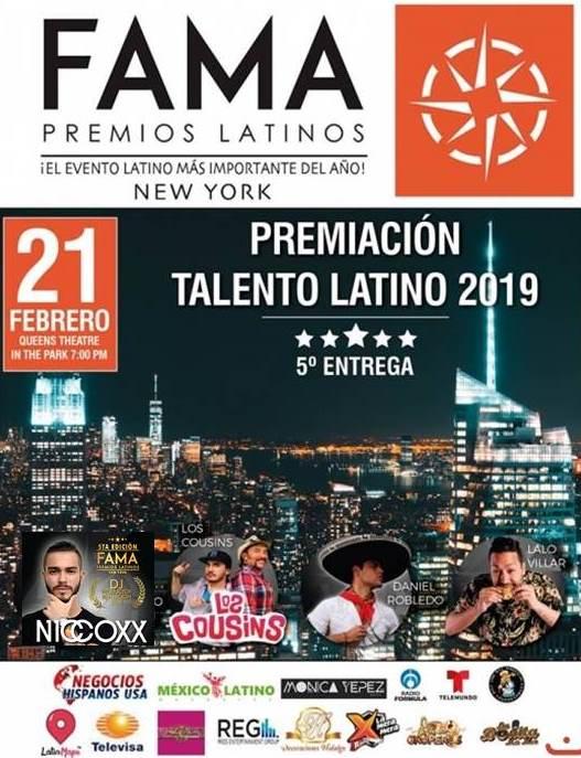 Premios Latinos Fama 2019