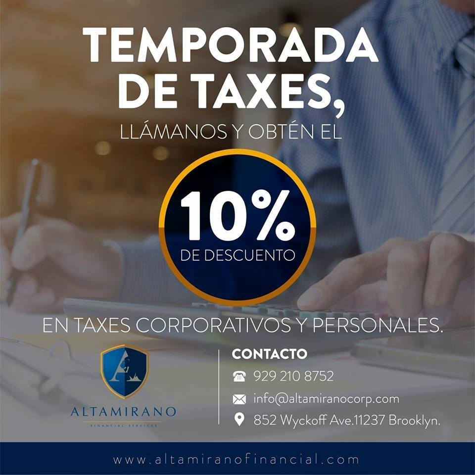 TEMPORADA DE TAXES