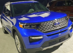 01-09-2019 Ford Explorer 2020, Detroit
