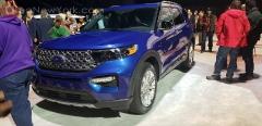 Ford Explorer 2020 Detroit