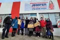 02-12-2021 | Jenifer Rajkumar asambleísta del distrito 38 y Zara Realty Foundation entregan Chromebooks