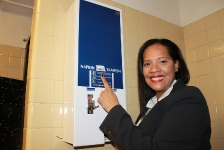 03-15-16 Ferreras Doe Launch Free Dispenser of Feminine Hygiene Products in NYC Schools