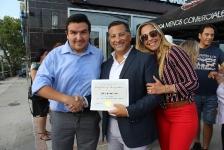 08-06-2018 Ceremonia de apertura de la nueva oficina de Mark Medical Care, Woodside, Queens