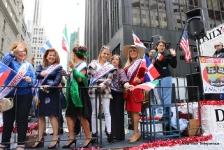 10-14-2018 Asociación Internacional de Mujeres Americanas en el Desfile de la Hispanidad en New York