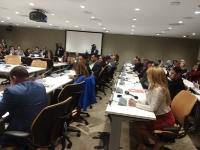 11-10-2017 Congreso de Prensa en Naciones Unidas y Comisionado de Cultura Dominicano