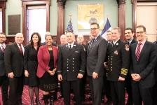11-25-2015 City Council Honors Heroic FDNY Lieutenant Who Rescued Infant