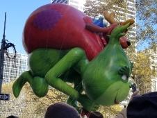 Desfile de Globos de Macys del Dia de Accion de Gracias en New York