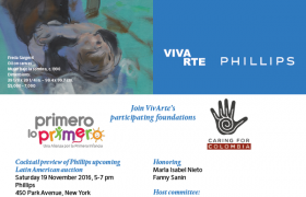 You are invited to join us at VivArte on Nov 19, 5-7pm