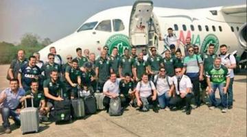 El avión del Chapecoense se estrella en Colombia: 5 supervivientes y 72 muertos