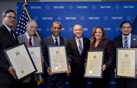 Comptroller DiNapoli hosted his annual Hispanic Heritage Celebration in New York City
