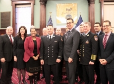 City Council Honors Heroic FDNY Lieutenant Who Rescued Infant.