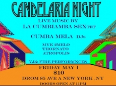 Celebrate the 4th edition of our CANDELARIA NIGHT.