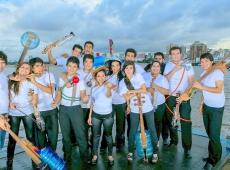 Orquesta paraguaya H2O que hace música para cuidar el agua, actuará en  Queens College