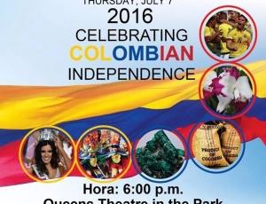 Celebración de la independencia de Colombia 2016.