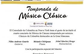 Temporada de música Clásica.